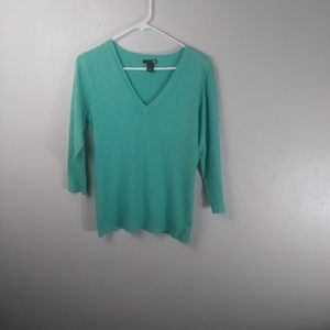 H & M Sweater 3/4 Sleeve Size Large --W
